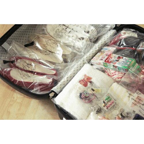 ~G13062404~ 防水內衣襪子整理袋 旅行 收納袋 行李分類袋 14枚入 ~  好康