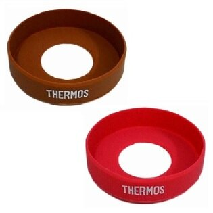 《BUYTAKE》THERMOS 膳魔師 SK3000/SK-3021 底部止滑膠圈 矽膠保護墊 杯墊 Z-MSK3000 食物罐底套 紅色 咖啡色