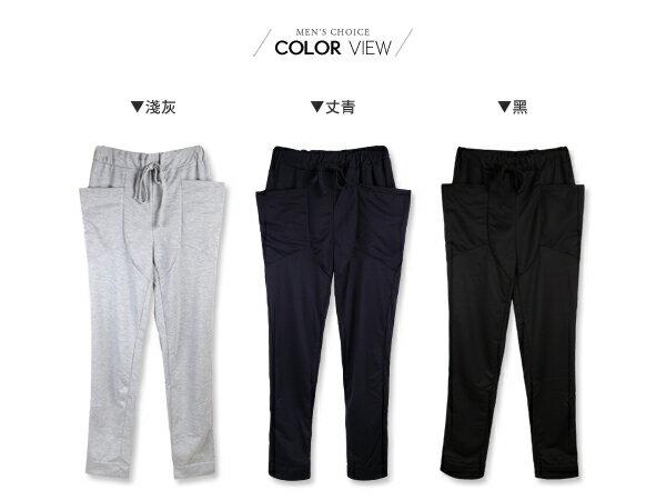 ☆BOY-2☆【NZ75006】韓版飛鼠褲潮流休閒棉褲運動褲 2