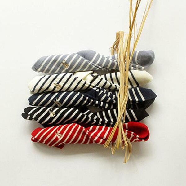 50%OFF【W018367SK】秋冬新品 日系 學院風條紋帆船刺繡女襪 純棉中筒襪子批發
