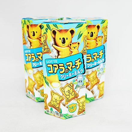 【敵富朗超巿】樂天小熊牛奶餅乾