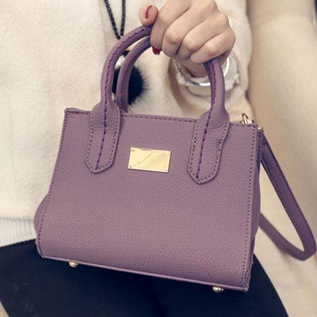 手提包 經典凱莉質感金牌側背包【O3053】☆雙兒網☆ 5