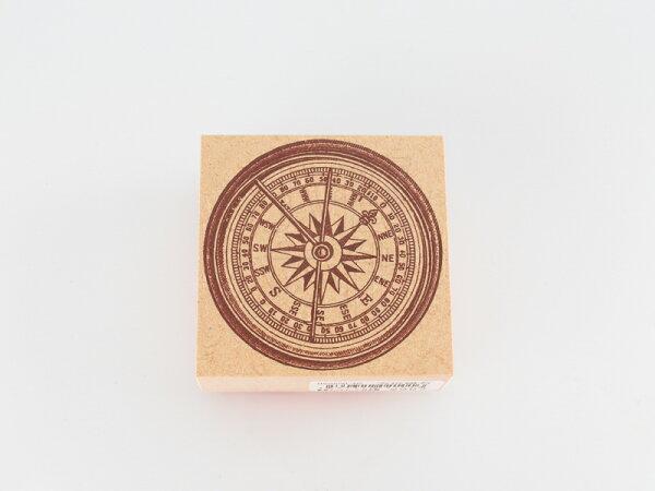 *小徑文化*日本進口手作雑貨 TOKYO ANTIQUE stamp - 方位磁石 ( B5050B-NS )