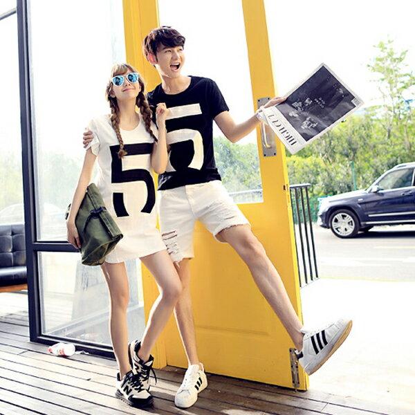 ◆快速出貨◆T恤.情侶裝.班服.MIT台灣製.獨家配對情侶裝.客製化.純棉短T.5【Y0315】可單買.艾咪E舖 3