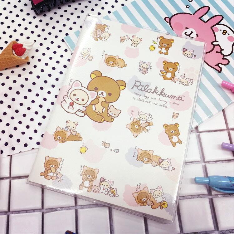PGS7 ^(  ^) 卡通系列 ~ 拉拉熊 2017 簡易 手帳本 32K 月曆 日曆