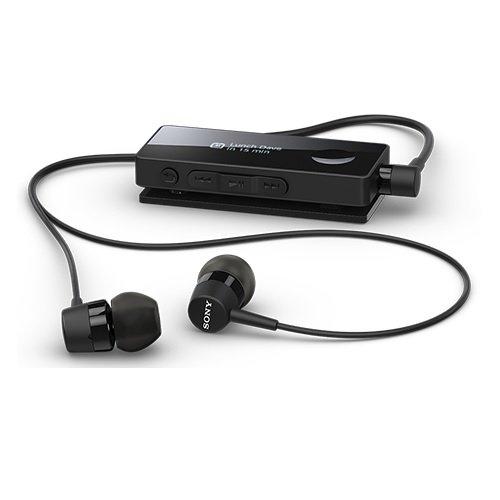 *╯新風尚潮流╭* SONY SBH-50 OLED 智能 藍牙耳機 無線藍芽耳麥 支援 NFC 黑 SBH50-K