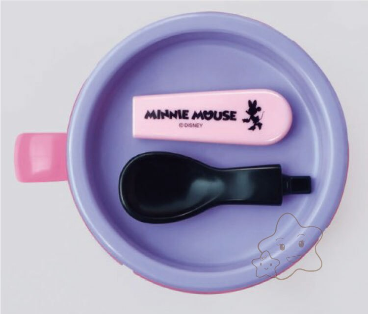 【大成婦嬰】日本超人氣 Disney 米奇、米妮副食品餐杯組 (1入) 附湯匙 3