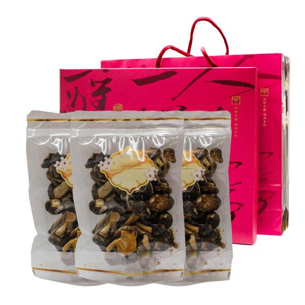 Nuts Jungle那是堅果 香菇脆片禮盒(3入裝) 美十樂藥妝保健