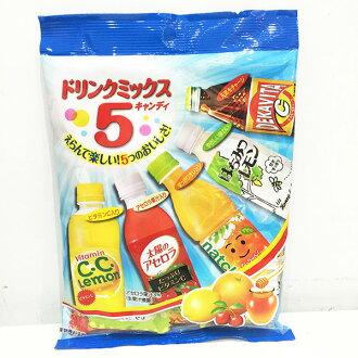 羅德 五種 飲料糖 CC檸檬 太陽西印度櫻桃 奈奈柳橙 蜂蜜檸檬 DEKVITA元氣C 日本製造進口 JustGirl
