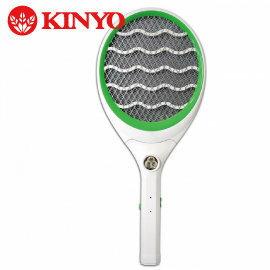 【壹品家現代生活館】**限時特價搶購中KINYO CM-2219充電式4000V大網面手電筒電蚊拍6組包裝