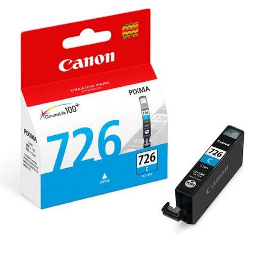【CANON 墨水匣】 CLI-726C 藍色原廠墨水匣