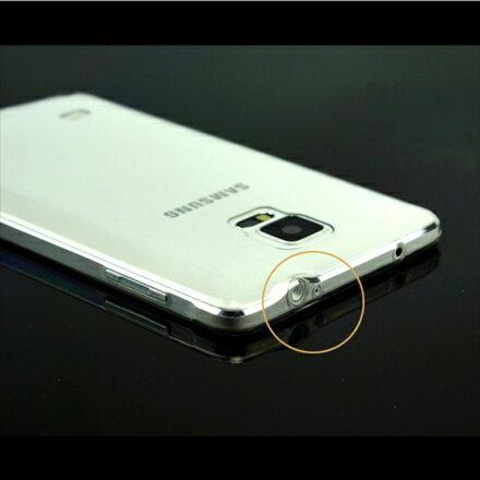 Aguchi Samsung 三星 Galaxy Note4 超薄 TPU 透明軟式手機殼/保護套 1