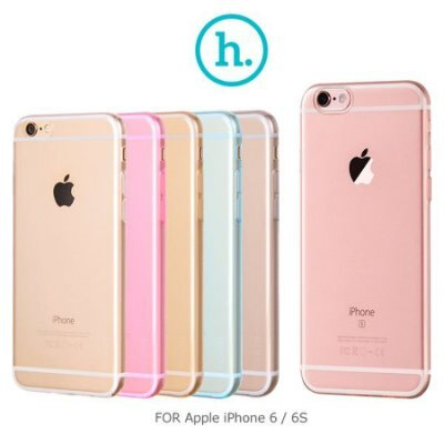 HOCO APPLE IPHONE 6 4.7吋 輕系列 TPU軟套 手機套 透光 手機殼