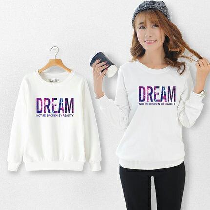 ◆快速出貨◆刷毛T恤 圓領刷毛 情侶T恤 暖暖刷毛 MIT台灣製.星空DREAM【YCS335】可單買.艾咪E舖 1
