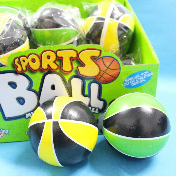 安全小籃球 PU發泡球 安全玩具球 直徑9.3cm/一個入{促60}~睿