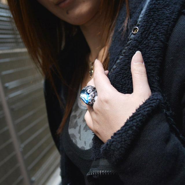 【海外訂購】【LYLY ERLANDSSON】the WINTER 極寒冰雪純銀戒指 - 冰晶藍(L-02-001) 6