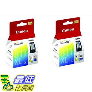 [COSCO代購 如果沒搶到鄭重道歉] Canon CL-811XL 彩色墨水匣(2入裝)_W108364