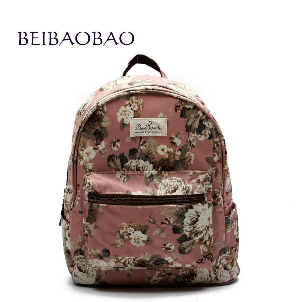 【BEIBAOBAO】粉色花漾親子包( 大+中+小  共三個) 1