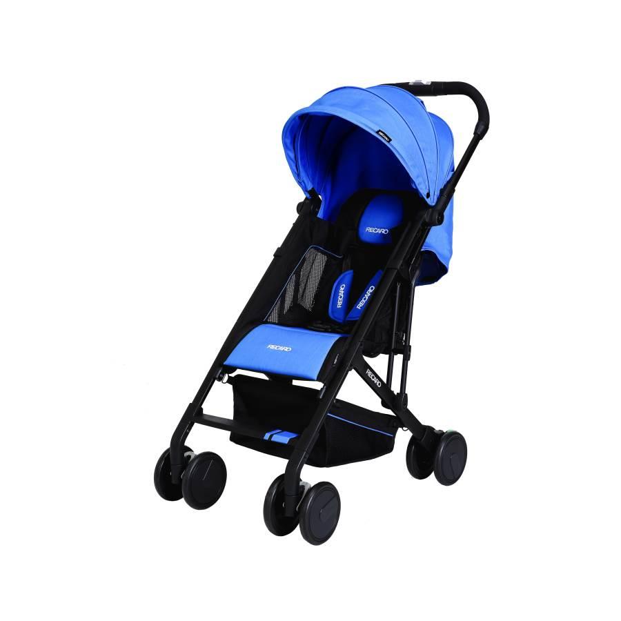 RECARO - Easylife嬰幼兒手推車 (寶石藍) 附原廠背帶一條 - 限時優惠好康折扣