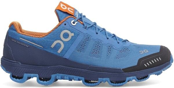 ON 瑞士雲端科技跑鞋/慢跑鞋/路跑/馬拉松/野跑鞋 野跑雲 Cloudventure 124032 男款 沉穩藍