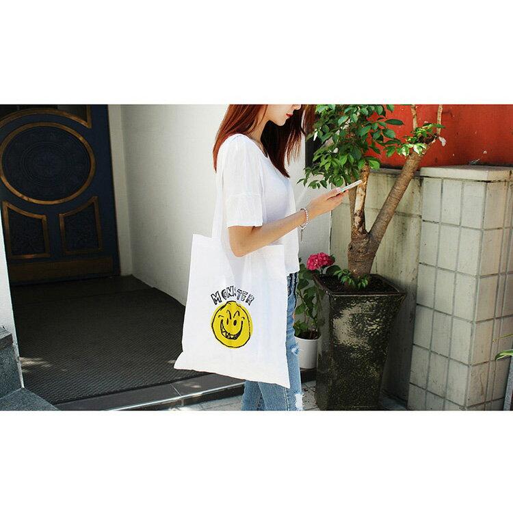 手提包 帆布包 手提袋 環保購物袋【SPYF14】 BOBI  11/10 1