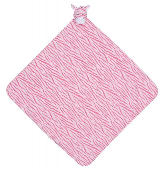 『121婦嬰用品館』美國Angel Dear 大頭動物嬰兒毛毯 斑馬(粉)AD2037(此商品售出不做退換) 0
