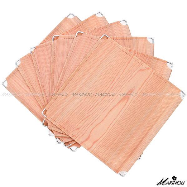 日本MAKINOU 零件『木紋和風PP門片-6入-DIY魔術方塊收納櫃專用-台灣製』MIT 配件 MAKINO牧野家