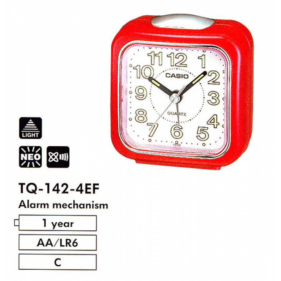 Reloj despertador Casio TQ-142-4 0