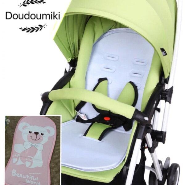 『DoudouMiki 』嬰兒推車坐墊。冷凝墊。保證涼。