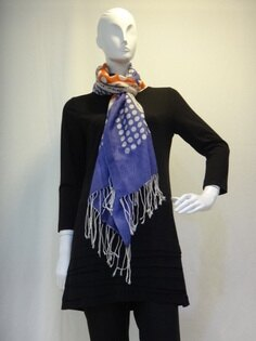 Ysanne ~冬季必備點點圍巾L004