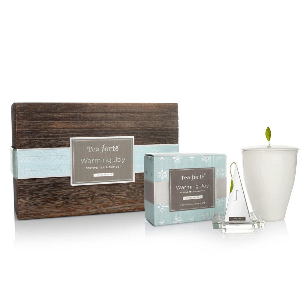 Tea Forte 冬季戀曲 茶具茶品禮盒 Warming Joy Gift Set 1