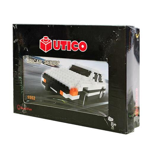 【UTICO微型積木】BRICAR 積木拼裝車-AE86 1552