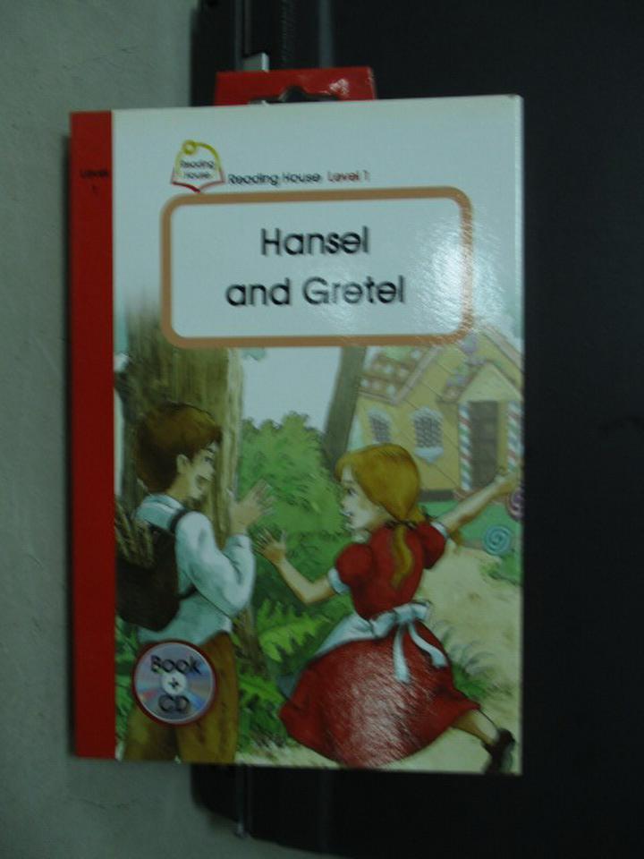 ~書寶 書T1/語言學習_KSB~Hansel and Gretel_附光碟