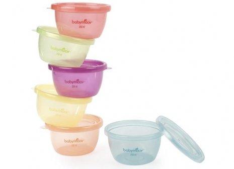 法國【Babymoov】嬰兒食物保存碗(6入) 0