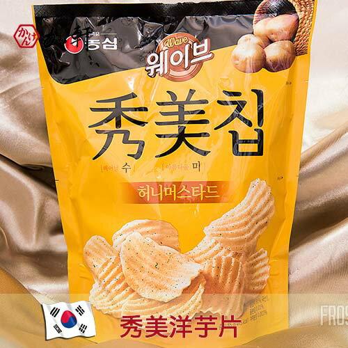 《加軒》韓國秀美洋芋片(蜂蜜芥末風味)