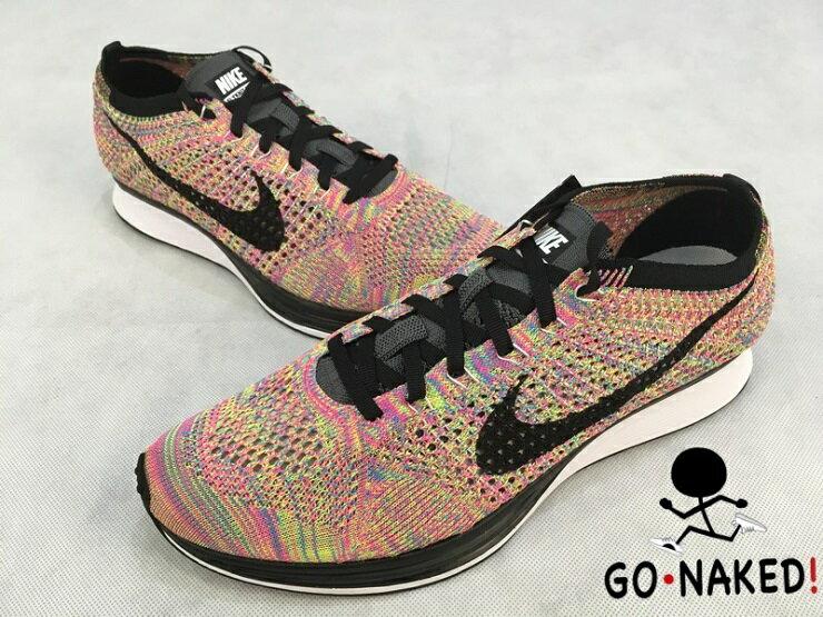 Nike Flyknit Racer Multicolor 3.0 彩虹編織 走路鞋 跑步鞋 1