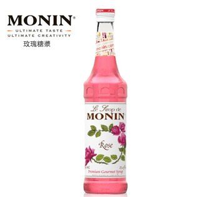 【MONIN】Rose / 玫瑰糖漿