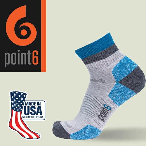 【鄉野情戶外用品店】 Point6|美國| block stripe 健行羊毛襪/美麗諾羊毛襪 運動襪 登山襪 戶外襪/1560