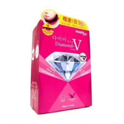 韓國 MASK HOUSE 鑽石級V型纖面膜組 (1片面膜+一條瘦臉帶) ☆真愛香水★