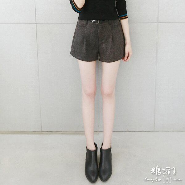 ★原價990五折495★糖罐子口袋後縮腰短褲→預購【KK4908】 1