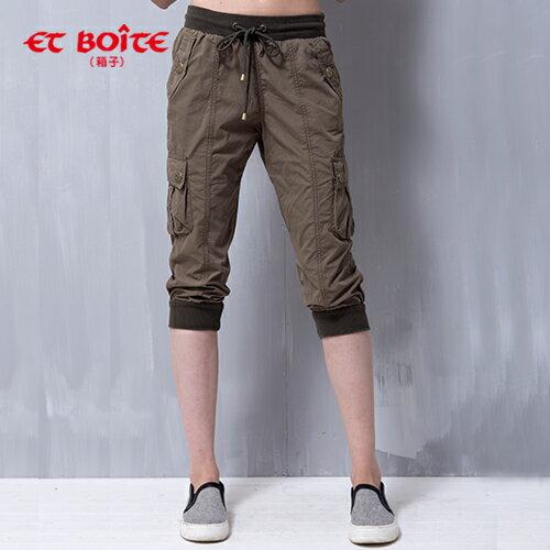 【ET BOiTE 箱子】涼感貼袋工作褲 0