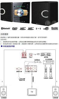 山水SANSUI 藍芽/數位DVD/DivX/USB音響 MS-655