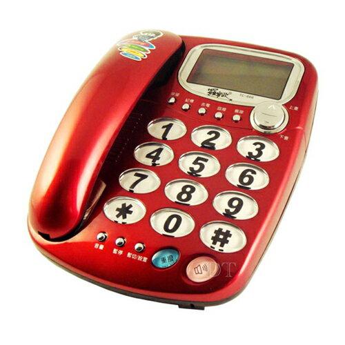 羅蜜歐來電顯示有線電話機TC-666