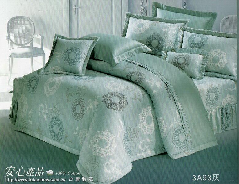 [床工坊]台製高級精梳棉 (雙面花床罩六件組+贈品)/雙面花床包4件組-起毛球保固款 - 限時優惠好康折扣