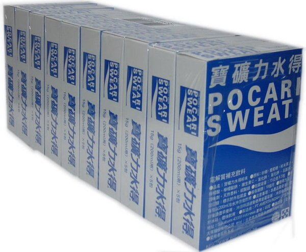 寶礦力水得粉末 POCARI SWEAT小盒 (5份,15克) 2017/04/23