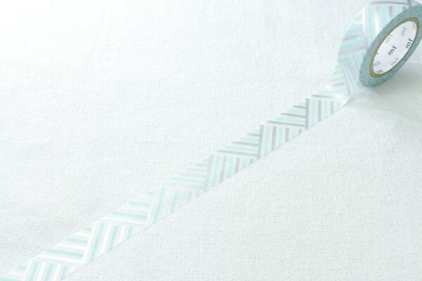 *小徑文化*日本和紙膠帶 mt 1P DECO新柄 - 織紋 MI ( MT01D174 )