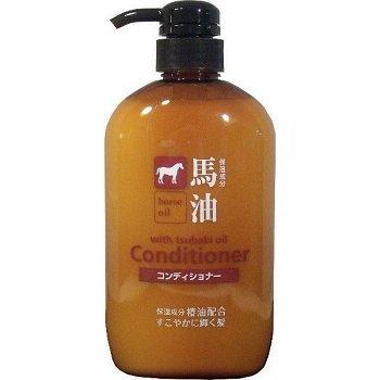 日本【熊野油脂】馬油潤絲精/馬油潤髮乳 600ml