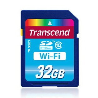 可傑 WIFI卡 創見 Transcend SDHC 32G 32GB CLASS10 WiFi 記憶卡 內建無線分享