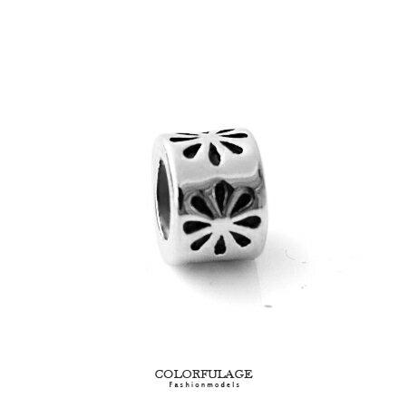 組合字母串珠手鍊 手作花朵款鋼墜手環 串珠之美 柒彩年代【NT28】CHARMS 0
