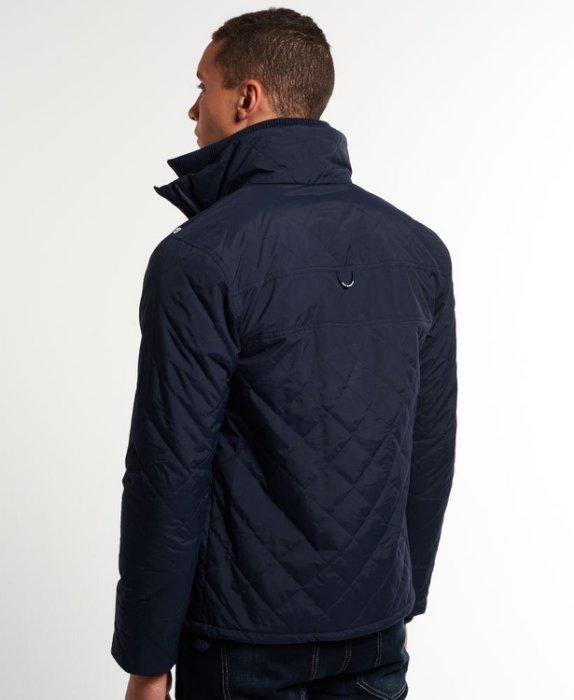 [男款] 英國代購 極度乾燥 Superdry Quilted Arctic Windcheater 男士 絎縫防風衣夾克 海軍藍 3